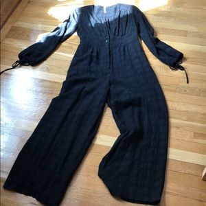Free People 70s style jumpsuit